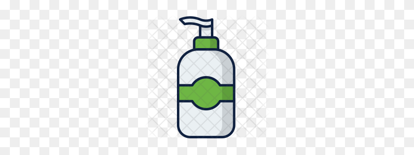 256x256 Premium Lotion Icon Download Png - Lotion Bottle Clipart