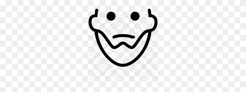 Premium Mario Mustache Icon Download Png - Mario Mustache PNG