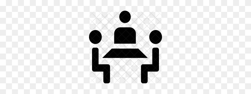 256x256 Premium Meeting Icon Download Png - Meeting Icon PNG