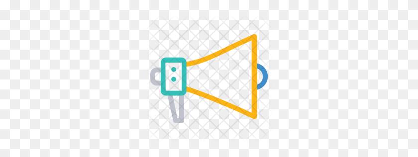 256x256 Premium Megaphone Icon Download Png - Megaphone PNG