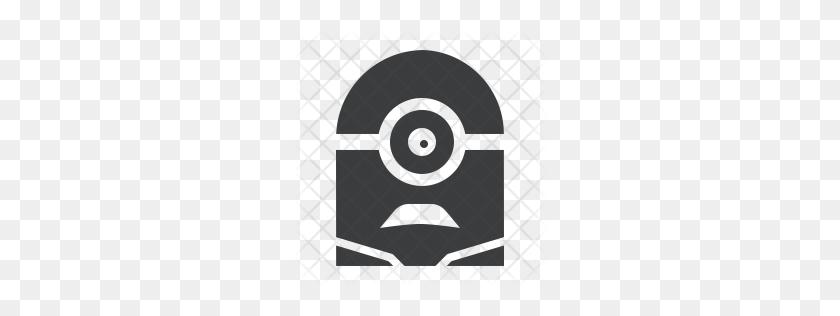 Premium Minion Icon Download Png - Minion Eye Clipart