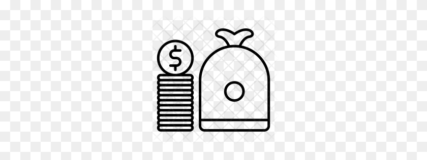 Premium Money Bag Icon Download Png - Money PNG Images