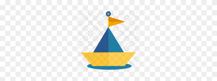 Premium Paper Boat Icon Download Png - Paper Boat PNG