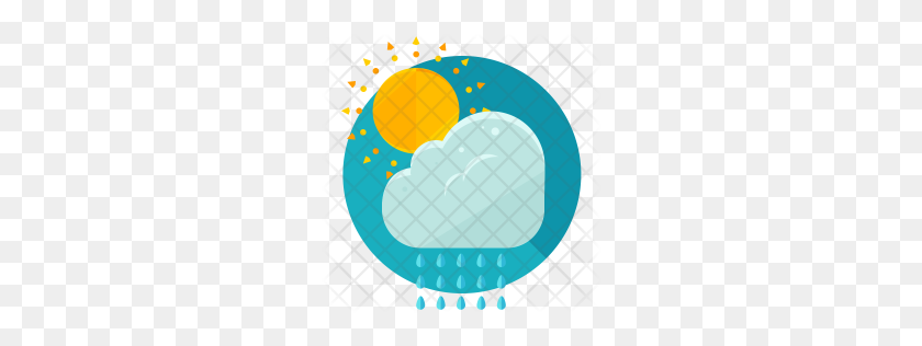 Premium Partly Sunny Icon Download Png - Partly Sunny Clipart