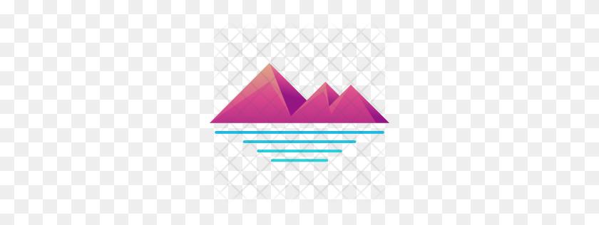 Premium Pyramids Icon Download Png - Pyramids PNG
