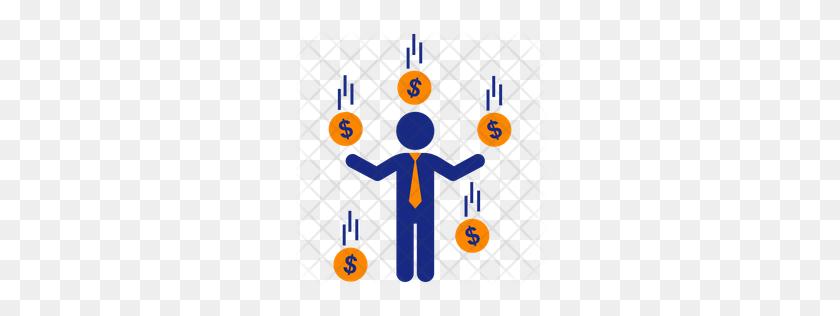 Premium Raining Money Icon Download Png - Raining Money PNG