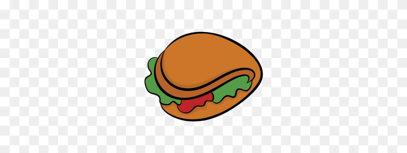 Premium Sandwich Wrap Icon Download Png - Tortilla PNG