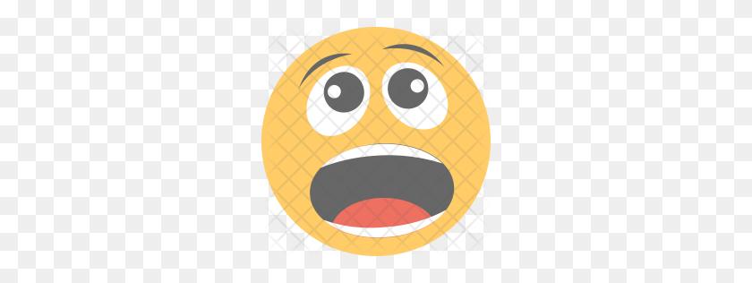 Premium Shocked Icon Download Png - Shocked Emoji PNG