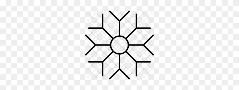 Premium Snowflakes Icon Download Png - White Snowflakes PNG