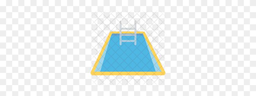 Premium Swimming Pool Icon Download Png - Swimming Pool PNG
