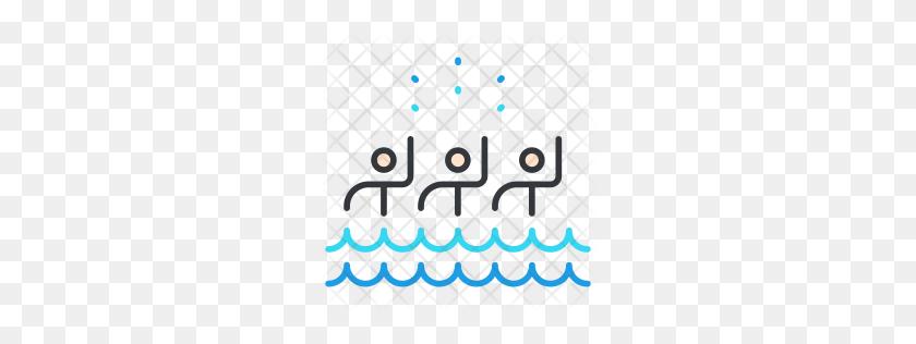 256x256 Premium Synchronized Swimming Icon Download Png - Synchronized Swimming Clipart