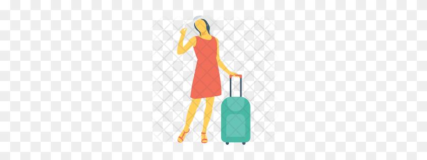 Premium Tourist Icon Download Png - Tourist PNG