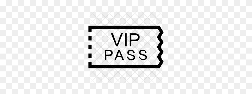 Premium Vip Pass Icon Download Png - Vip PNG