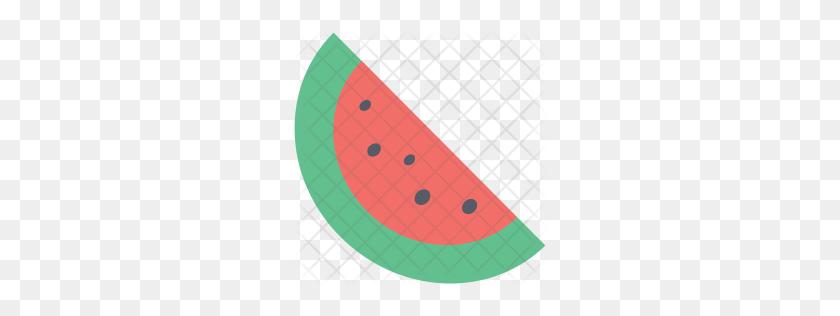 256x256 Premium Watermelon Icon Download Png - Melon PNG