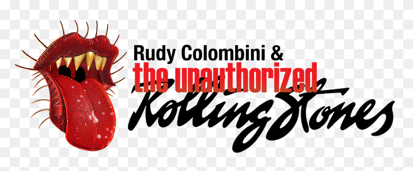 Press The Unauthorized Rolling Stones - Rolling Stones Logo PNG