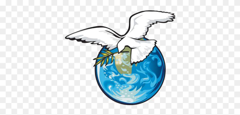 400x342 Pretty Clip Art Dove Olive Branch Clipart - Free Clipart Dove Of Peace