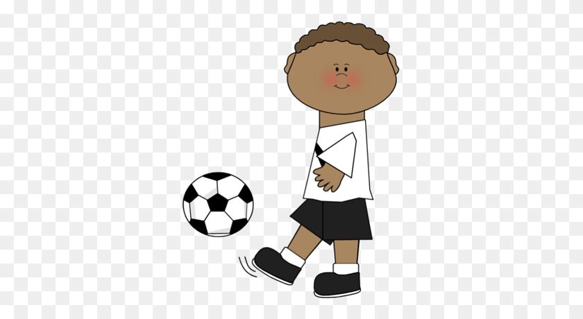 313x400 Pretty Kicking Soccer Ball Clip Art Cartoon Girl Kicking Soccer Ball - Girl Kicking Soccer Ball Clip Art