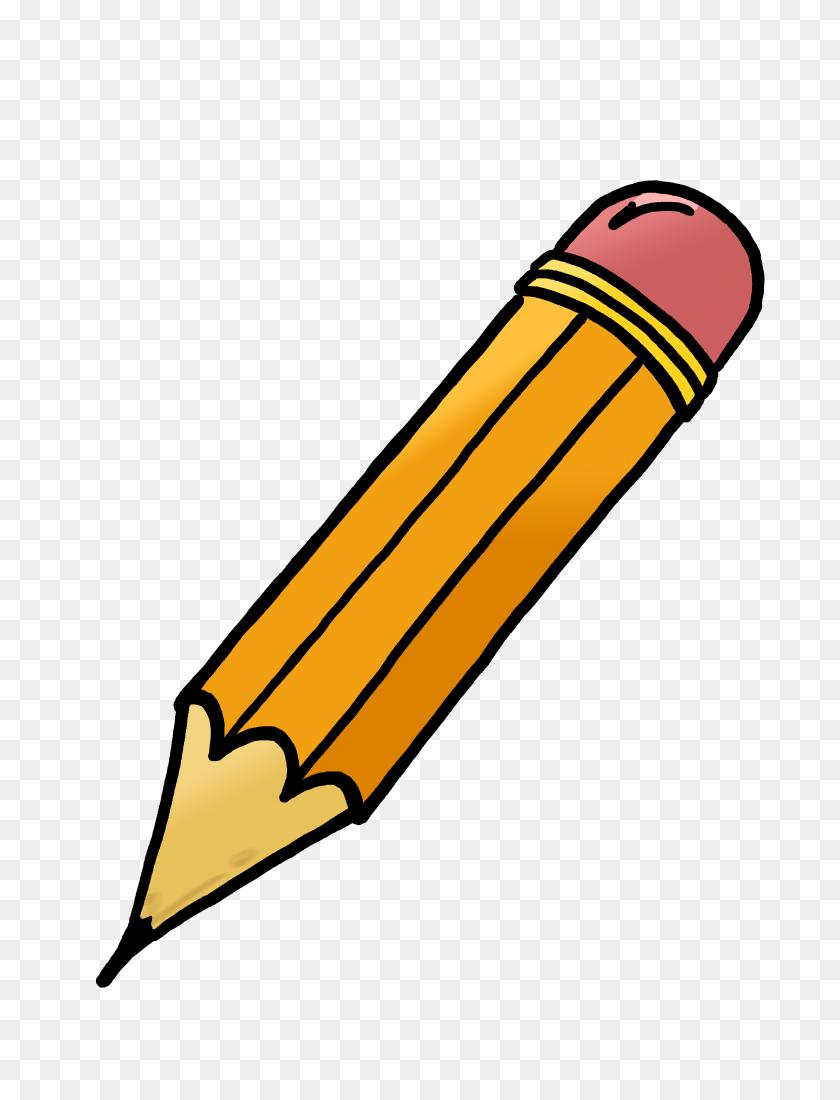 Pribor School In Pencil, Pencil - Pencil Writing Clipart