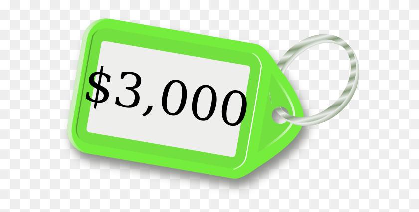 600x366 Price Tag Clip Art - Tag Clipart