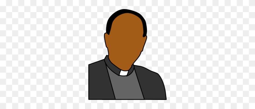 Priest Head Shoulders Clip Art - Priest Clipart