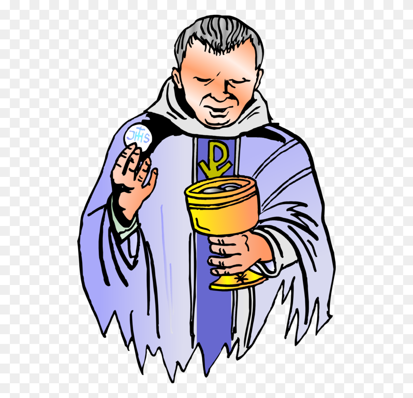 526x750 Priesthood In The Catholic Church Clergy Eucharist - Sacrament Clipart
