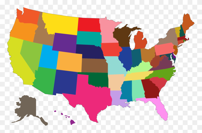 United States Map Clipart Free Download Best United States Map - Us-map-images-free