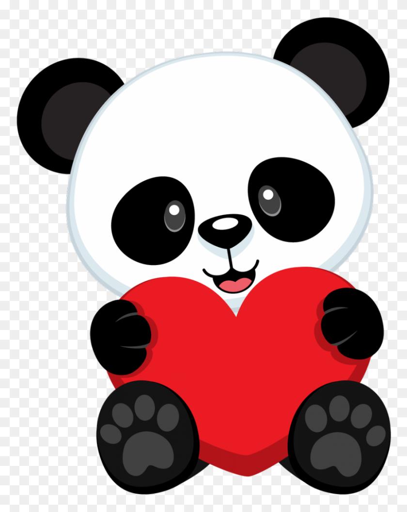 Printables - Panda Bear Clipart