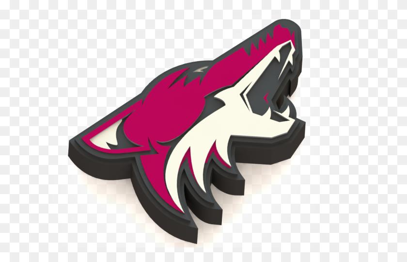 640x480 Printed Arizona Coyotes Logo - Arizona Coyotes Logo PNG
