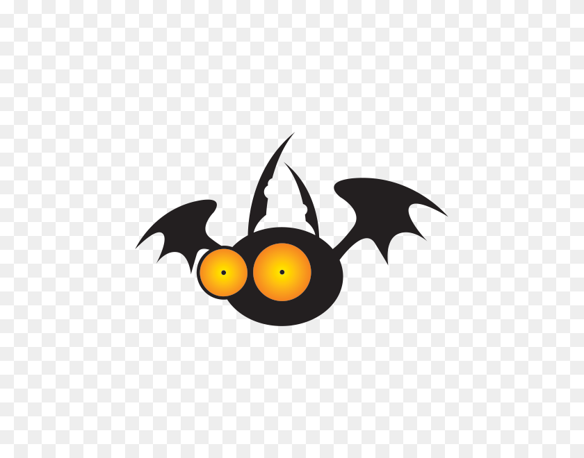 Printed Vinyl Dracula Vampire Bat Stickers Factory - Vampire Bat Clipart