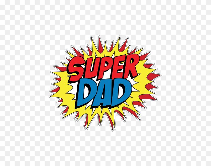 Printed Vinyl Super Dad Pop Art Cartoon Stickers Factory - Pop Art PNG