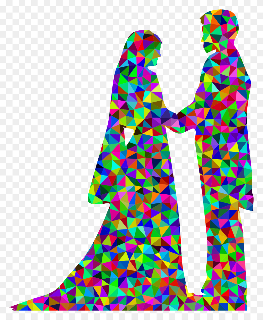 Prismatic Low Poly Marriage Icons Png - Marriage PNG