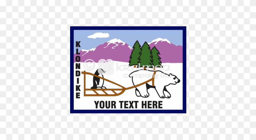 Product Tags Polar Bear - Sled Dog Clip Art