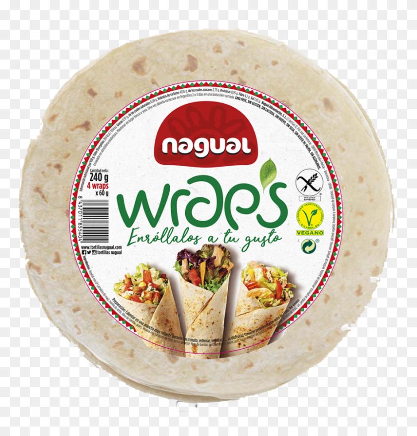 Productos Nagual Burritos - Tortilla PNG