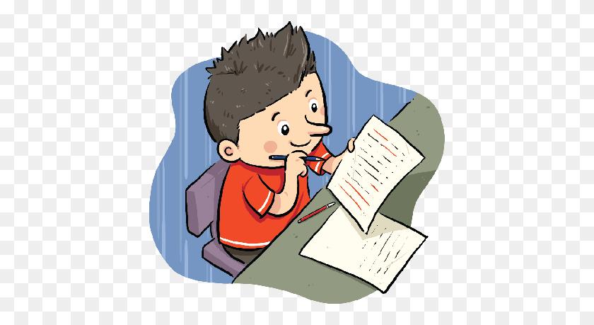 Projects Idea Doing Homework Clipart - Doing Homework Clipart
