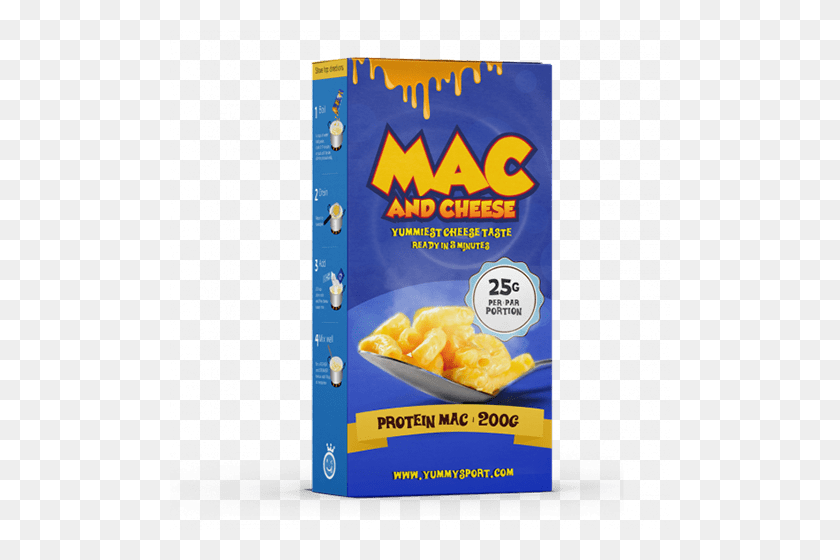 500x500 Protein Mac Cheese - Mac And Cheese PNG