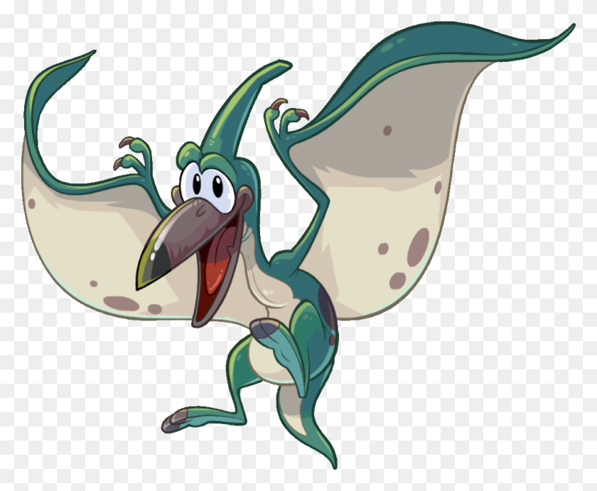 Pteranodon Club Penguin Wiki Fandom Powered - Pterodactyl PNG