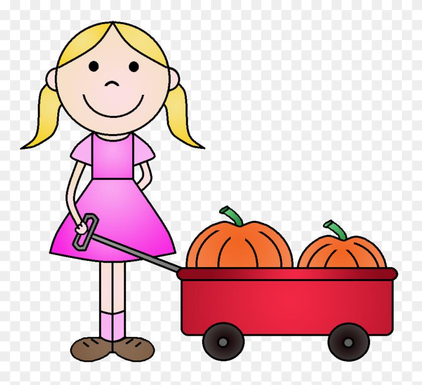 Pumpkin Clipart Child - Baby Pumpkin Clipart