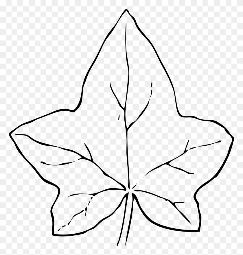 Pumpkin Leaf Clipart Transparent Stock Black And White Inside Leaf - Tea Leaf Clip Art