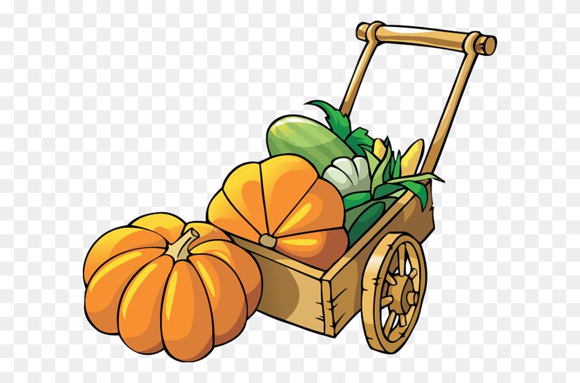 Pumpkin Patch Clipart - Halloween Birthday Clipart