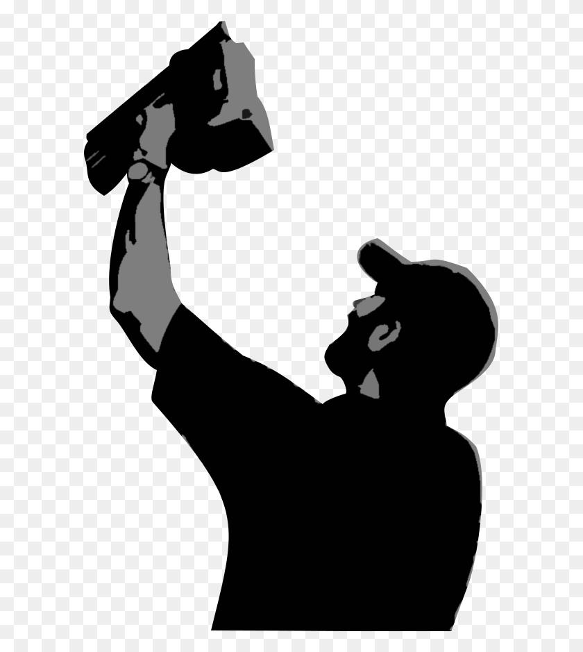 Punch List Silhouette Nail Gun Drywall Clip Art - Cracks Clipart
