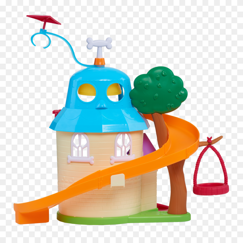 Puppy Dog Pals Doghouse Out Of Package - Puppy Dog Pals Clipart