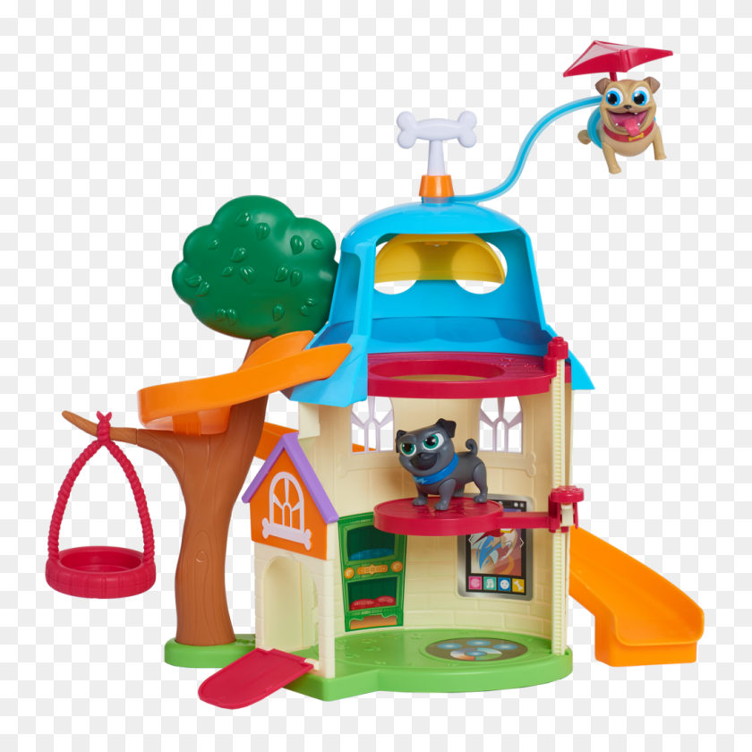 Puppy Dog Pals Doghouse Out Of Package - Puppy Dog Pals PNG