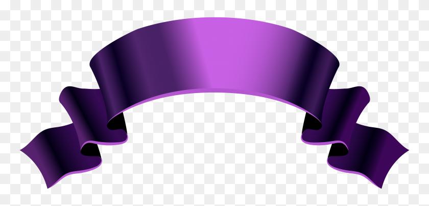 Purple Banner Png Clipart - Purple Banner Clipart