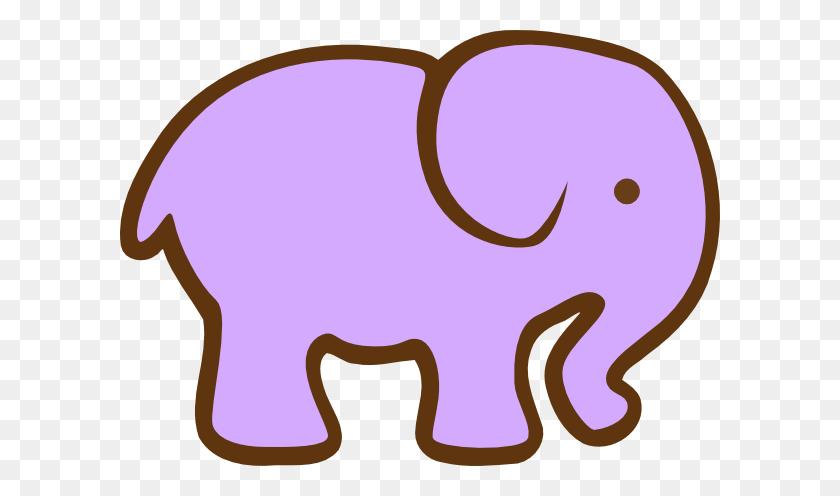 Purple Elephant Clip Art - Seahorse Clipart
