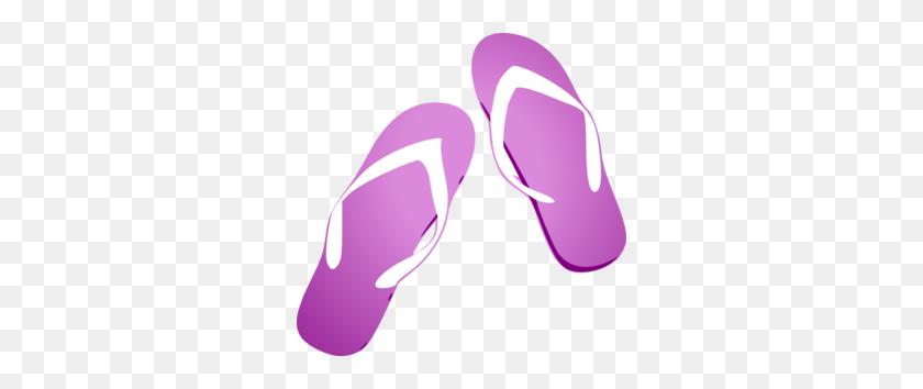 Purple Fade Flip Flop Clip Art - Flip Flop Clip Art Free