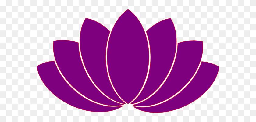 Purple Flower Clip Art - Lotus Flower Images Clipart