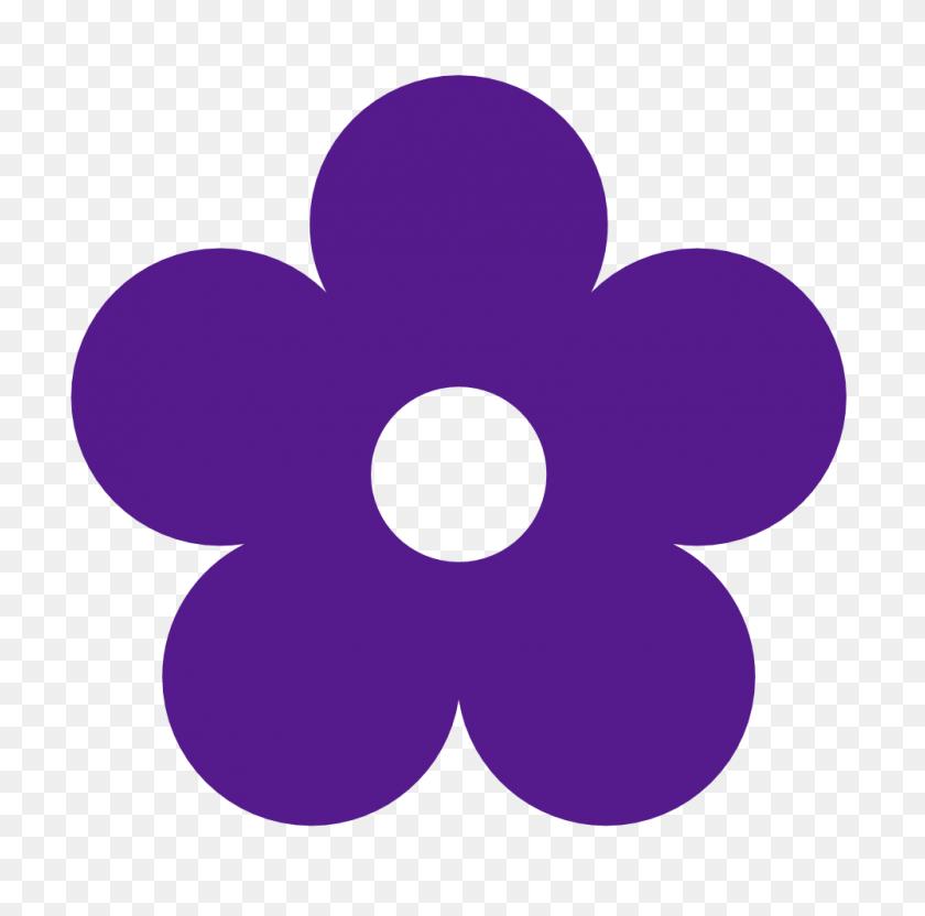 Purple Flower Clip Art Look At Purple Flower Clip Art Clip Art - Hibiscus Flower Clipart Black And White