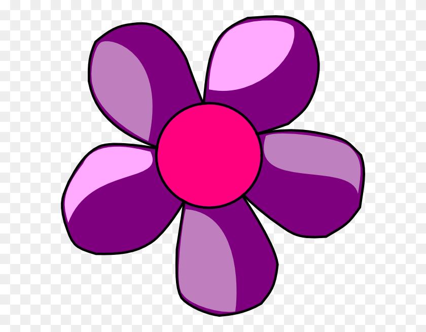 600x594 Purple Flower Clipart Look At Purple Flower Clip Art Images - Microsoft Clipart Online