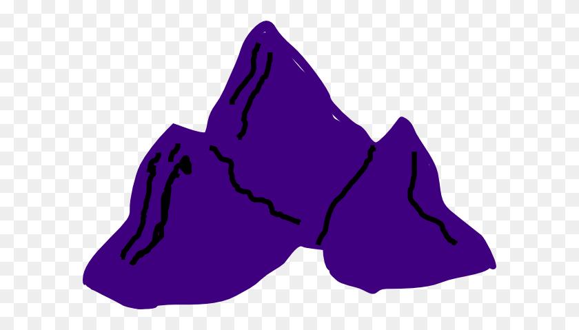 Purple Mountains Clip Art - Mountain Clip Art Images