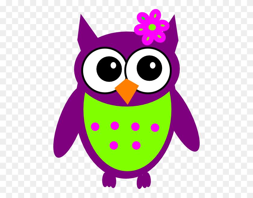 Purple Owl Clip Art - Owl Images Clipart